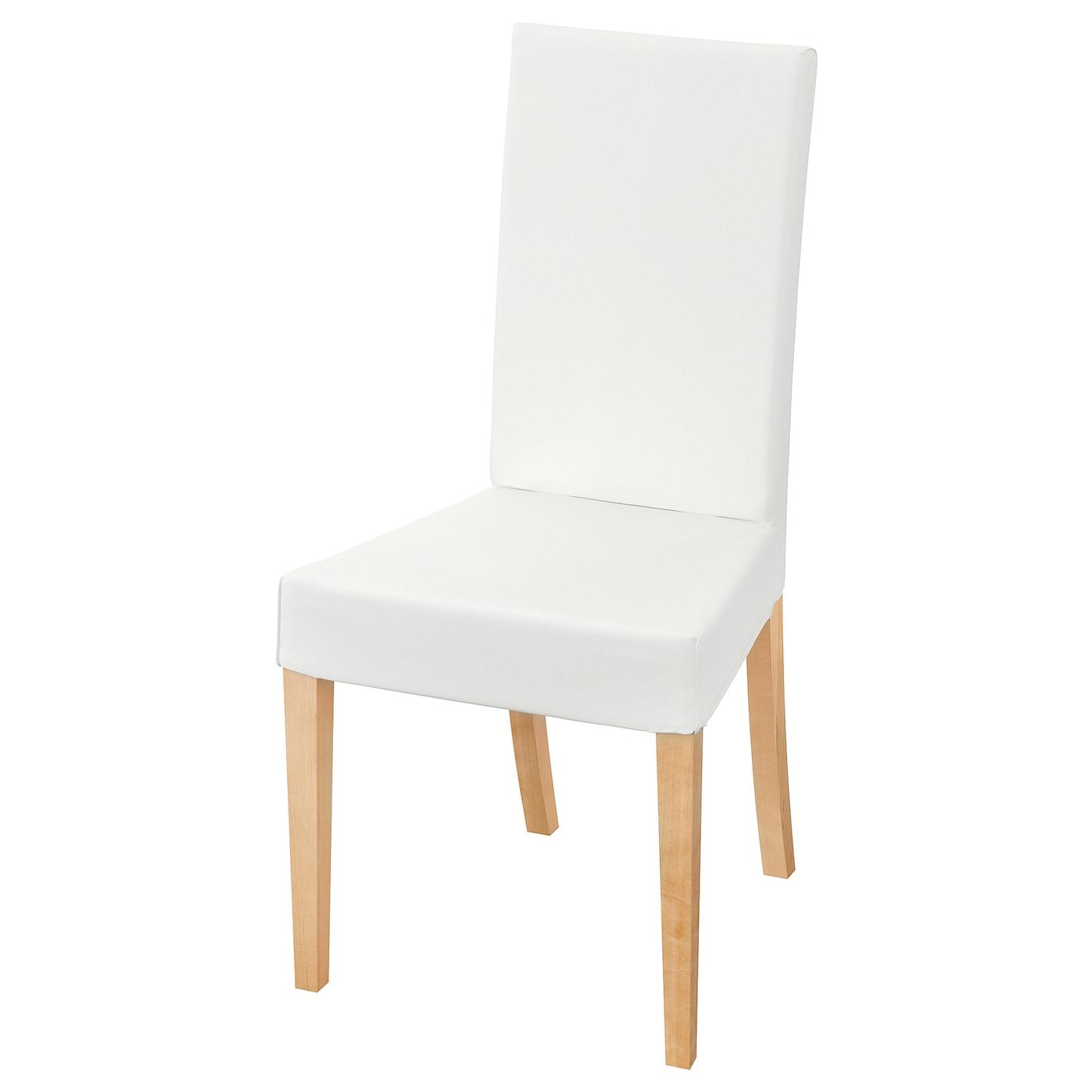 HARRY Stol, birk, Blekinge hvid IKEA