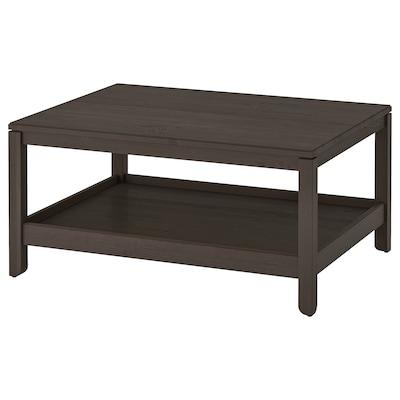 HAVSTA Sofabord, mørkebrun, 100x75 cm