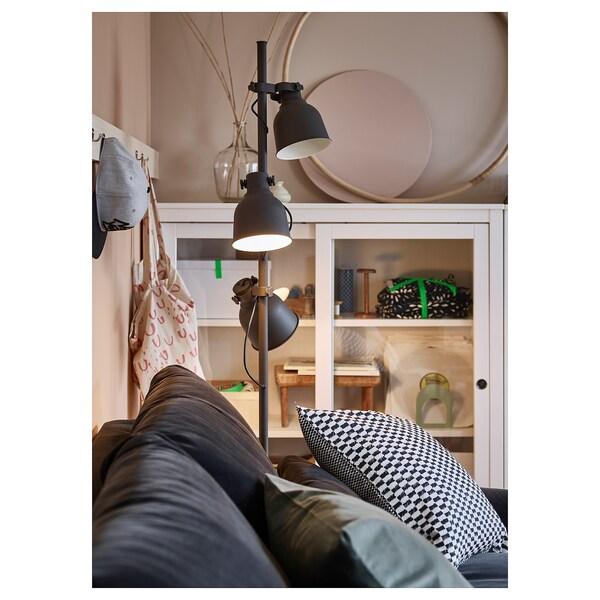 HEKTAR gulvlampe med 3 spot mørkegrå 8.6 W 176 cm 30 cm 16.0 cm 280 cm
