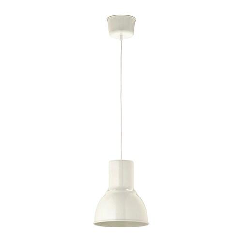 HEKTAR Loftlampe - hvid, 22 cm - IKEA
