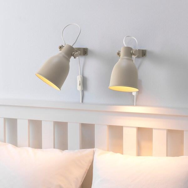 IKEA HEKTAR Væg-/klemspot