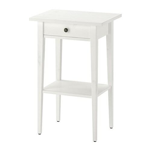 Extreme HEMNES Sengebord - hvid bejdse - IKEA NW73