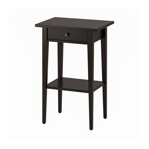 Kendt HEMNES Sengebord - sortbrun - IKEA XG16