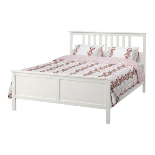 hemnes sengestel 160x200 cm ikea. Black Bedroom Furniture Sets. Home Design Ideas