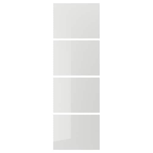 IKEA HOKKSUND 4 paneler til stel til skydedør