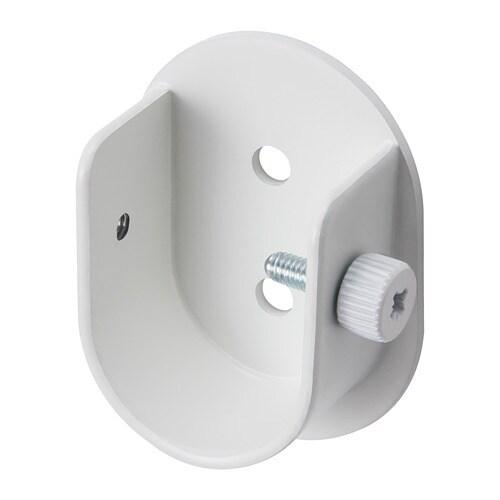 gardinstang beslag HUGAD Vægbeslag til gardinstang   hvid   IKEA gardinstang beslag