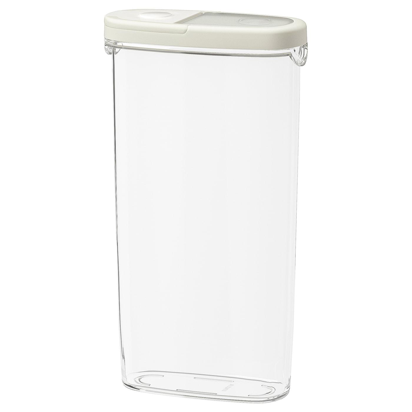 Picture of: Ikea 365 Opbevaring Med Lag Til Torvarer Transparent Hvid Ikea