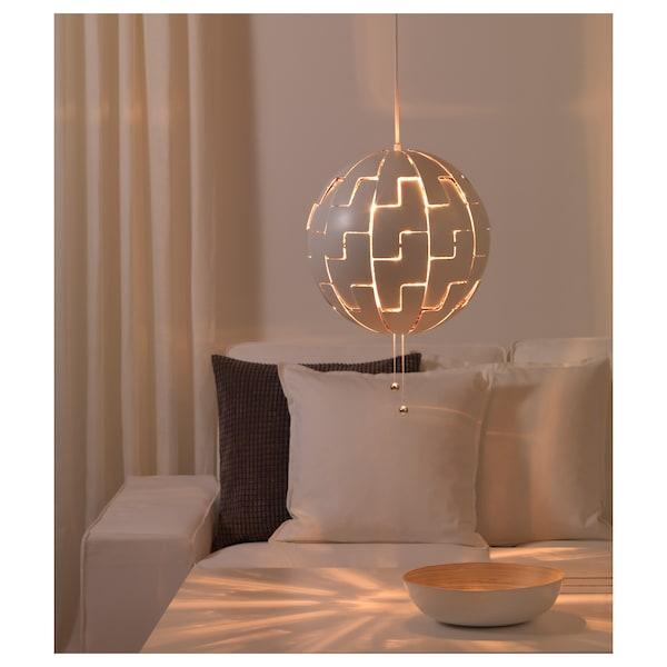 IKEA PS 2014 loftlampe hvid/sølvfarvet 13 W 35 cm 150 cm