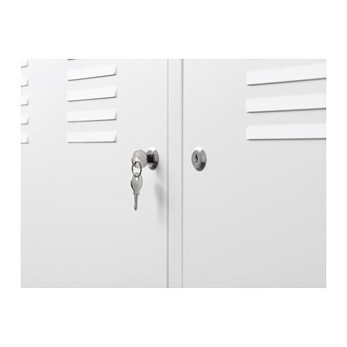 skab med lås ikea IKEA PS Skab   hvid   IKEA skab med lås ikea