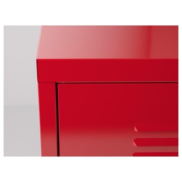 IKEA PS Skab, rød, 119x63 cm