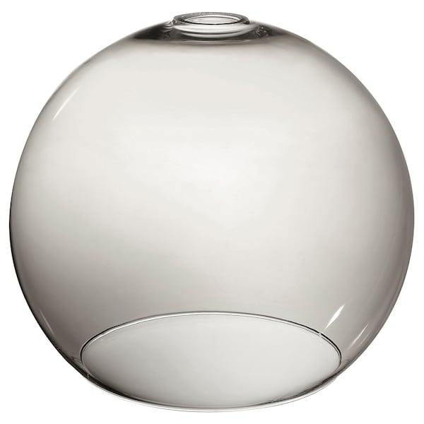 JAKOBSBYN Loftlampeskærm, røgfarvet, 30 cm