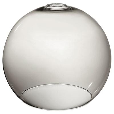 JAKOBSBYN loftlampeskærm røgfarvet 30 cm 30 cm 25 cm 30 cm