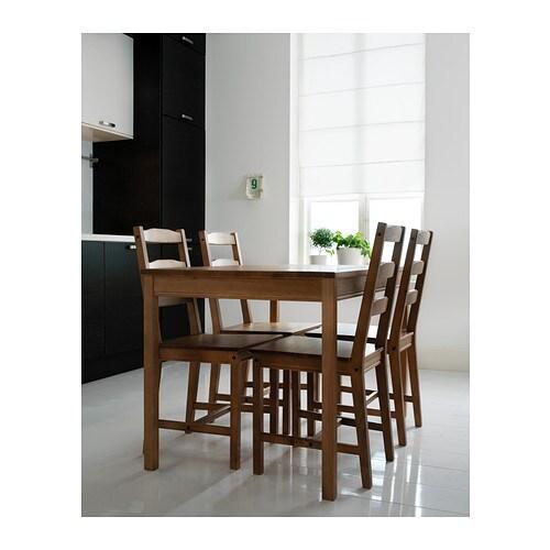 Jokkmokk bord og 4 stole   ikea