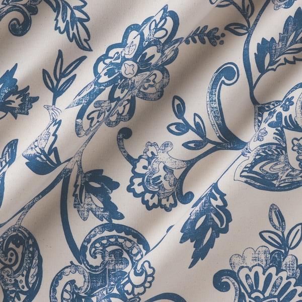 JUNIMAGNOLIA Metervare, natur/blå, 150 cm