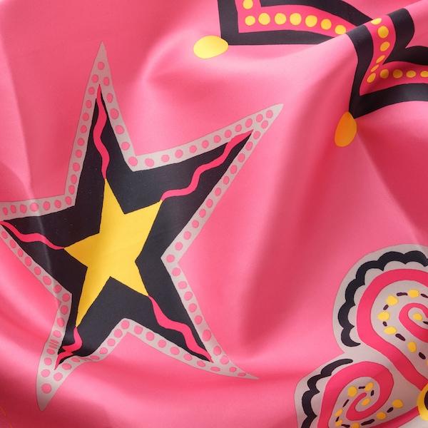 KARISMATISK Metervare, forskellige mønstre pink, 150x300 cm