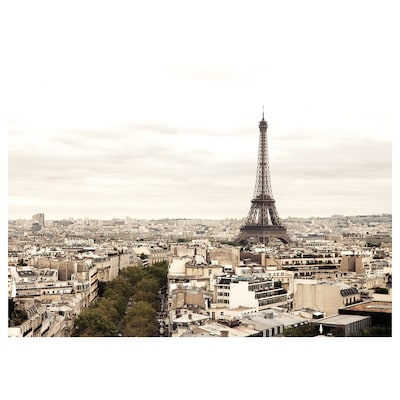 KATEBO Billede, dag i Paris, 70x50 cm