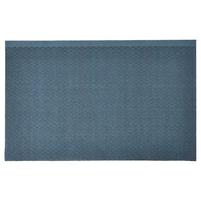 KLAMPENBORG Dørmåtte, indendørs, blå, 50x80 cm