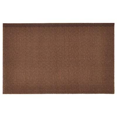 KLAMPENBORG Dørmåtte, indendørs, brun, 35x55 cm