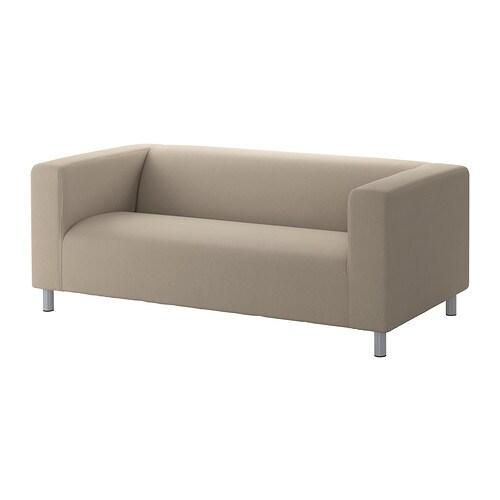 KLIPPAN Sofa 2 , Dansbo beige Bredde: 180 cm Dybde: 88 cm Højde: 66 cm Siddedybde: 54 cm Siddehøjde: 43 cm