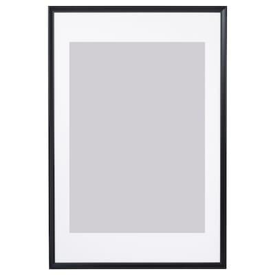 KNOPPÄNG Ramme, sort, 61x91 cm
