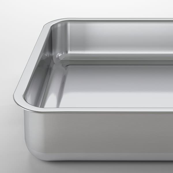 KONCIS Bradepande, rustfrit stål, 34x24 cm