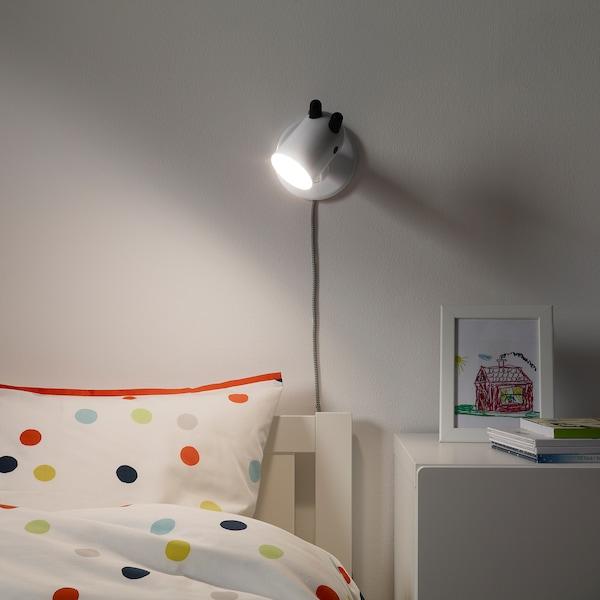 KRUX LED-væglampe, hvid
