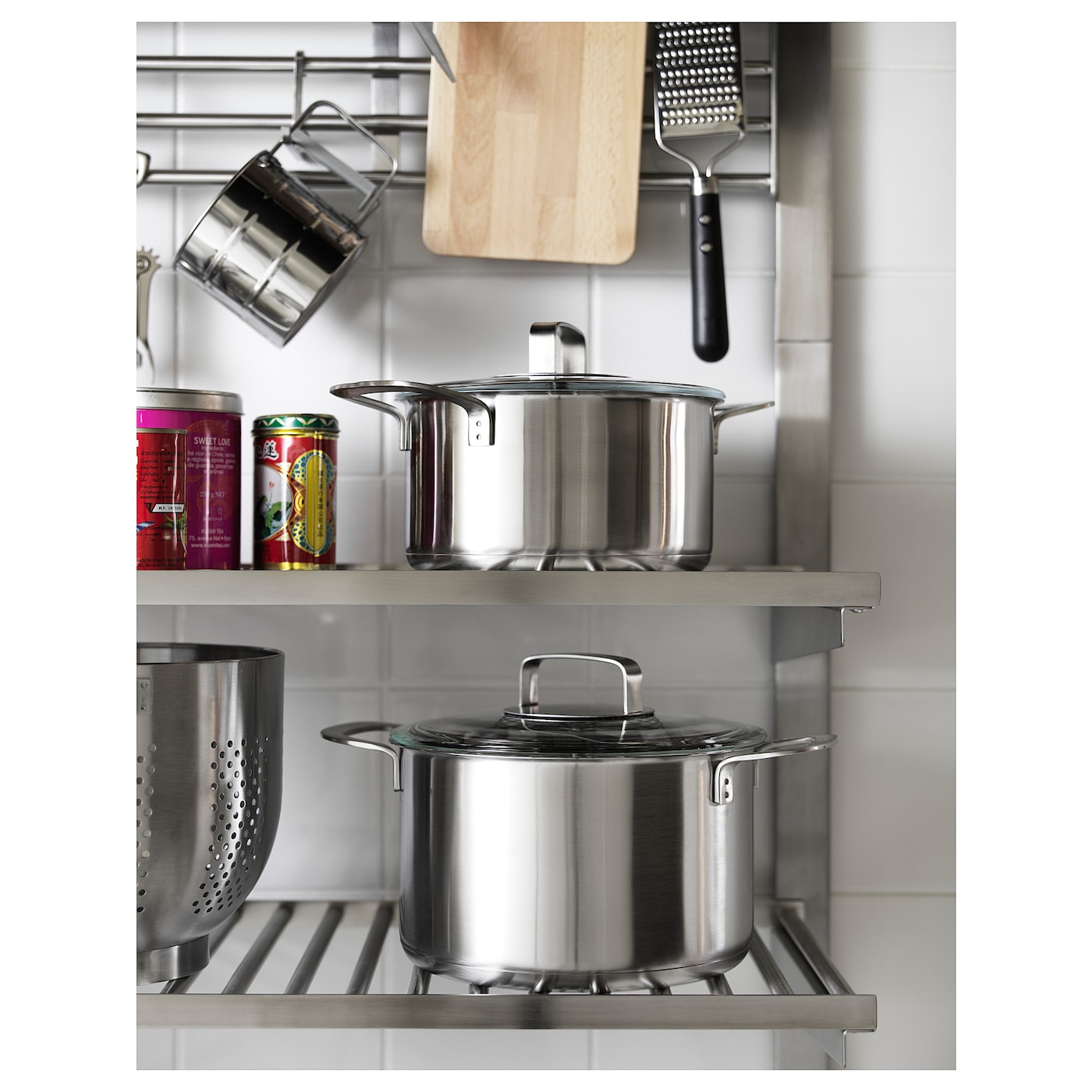 Picture of: Kungsfors Hylde Rustfrit Stal Ikea