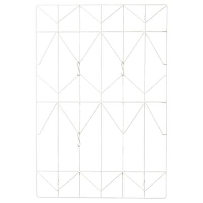 KVICKSUND Opslagstavle, hvid, 58x86 cm