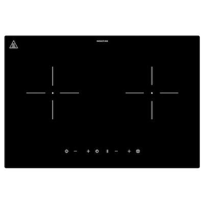 LAGAN Induktionskogeplade, plug-in 2 zoner/sort