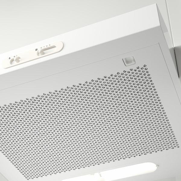 LAGAN Vægmonteret emhætte, hvid, 60 cm