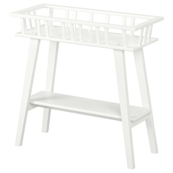 LANTLIV Piedestal, hvid, 68 cm