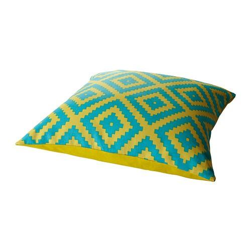 LAPPLJUNG FÅGEL Pude IKEA Kan vendes. Forskellige mønstre på hver side. Lynlås gør betrækket nemt at tage af og vaske.