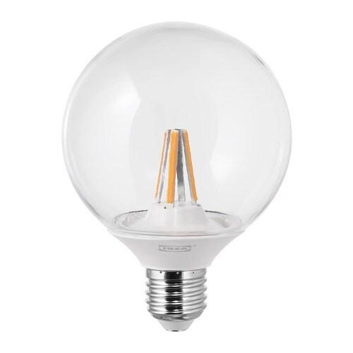 Utroligt LEDARE LED-pære E27 600 lumen - IKEA EB18