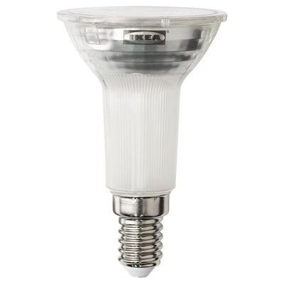 LEDARE LED-pære E14 reflektor R50 400 lu, varm dæmpning, 2700 K