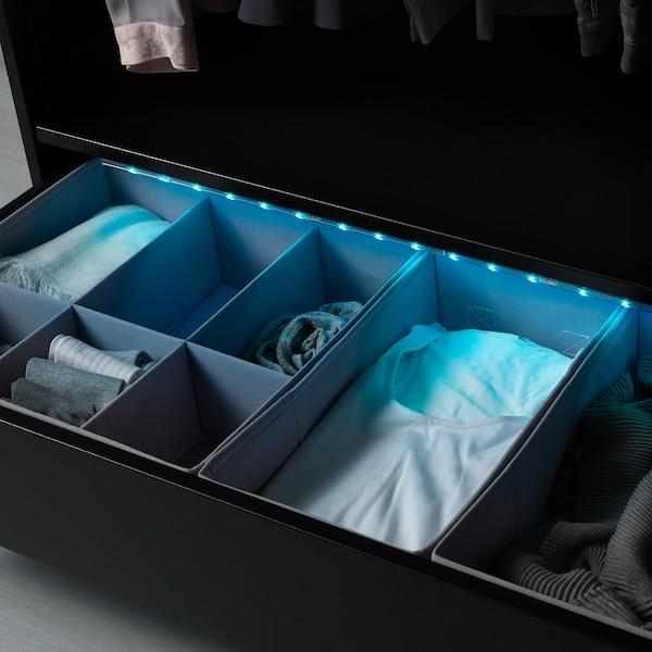 LEDBERG LED-lysskinne fleksibel, multifarvet, 5 m