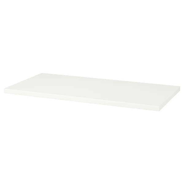 LINNMON Bordplade hvid 120 cm 60 cm 3.4 cm 50 kg