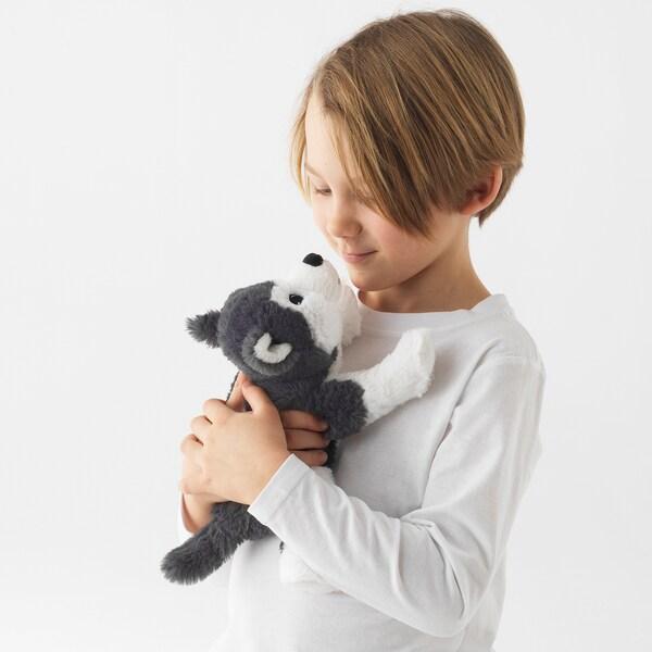 LIVLIG Tøjdyr, hund/Sibirsk husky, 26 cm