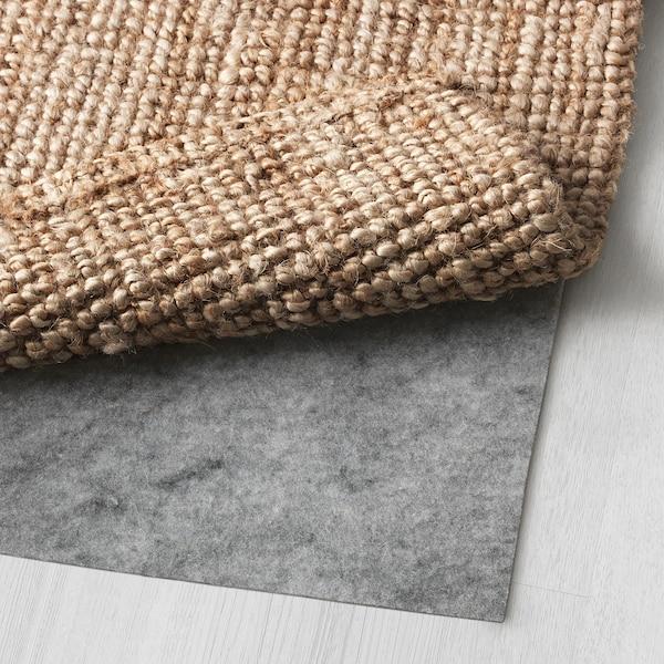 LOHALS Tæppe, fladvævet, natur, 160x230 cm