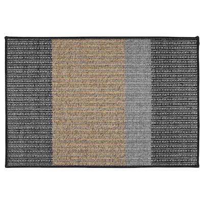 LYNDERUP Dørmåtte, indendørs/udendørs multifarvet, 60x90 cm