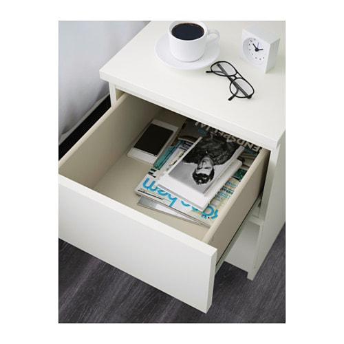 Super MALM Kommode 2 skuffer - hvid - IKEA CD46