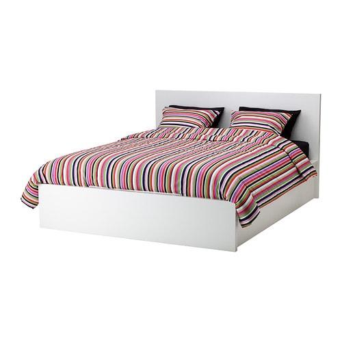 Malm seng   hvid, 140x200 cm   ikea