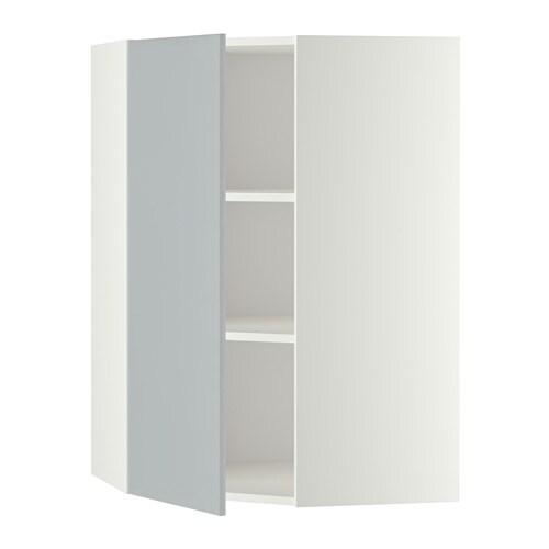 Ikea Kok Veddinge Gra : METOD Hjornevogskab med hylder IKEA Du kan tilpasse afstanden mellem