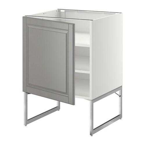 Ikea Kok Bodbyn Gra : METOD Underskab med hylder IKEA Du kan tilpasse afstanden efter dit