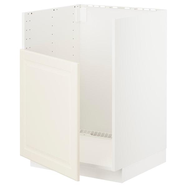 METOD Underskab til BREDSJÖN vask, hvid/Bodbyn råhvid, 60x60 cm