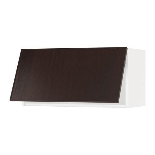 Metod vægskab, horisontalt   hvid, veddinge hvid, 80x40 cm   ikea