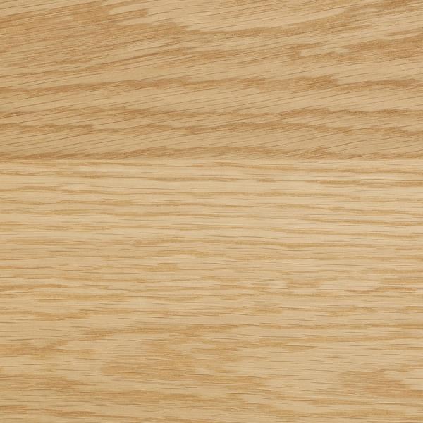 MÖLLEKULLA Bordplade efter mål, eg/finer, 45.1-63.5x3.8 cm