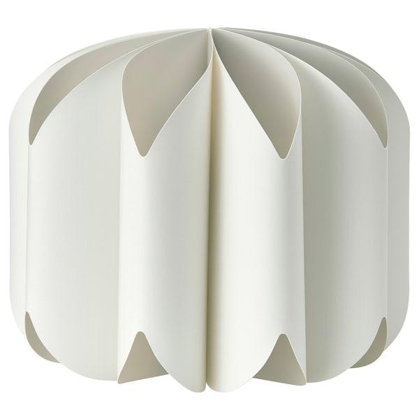 MOJNA Loftlampeskærm, tekstil/hvid, 47 cm