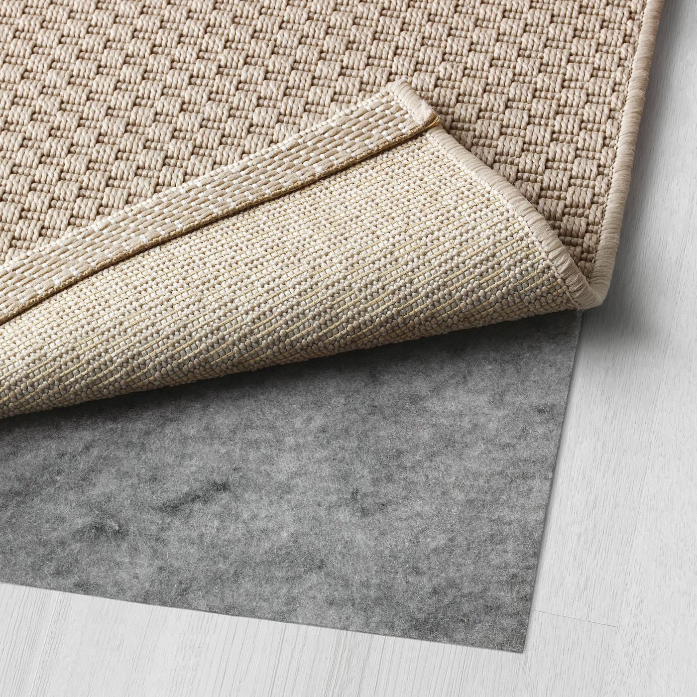 Morum Taeppe Fladvaevet Inde Ude Indendors Udendors Beige 200x300 Cm Ikea