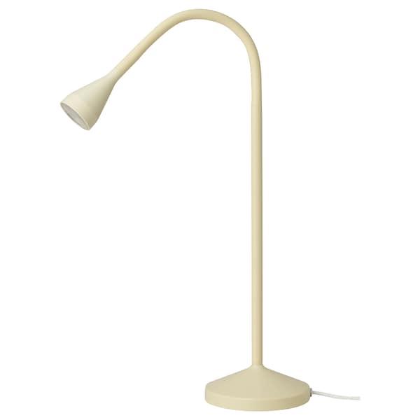 NÄVLINGE LED-skrivebordslampe, gul