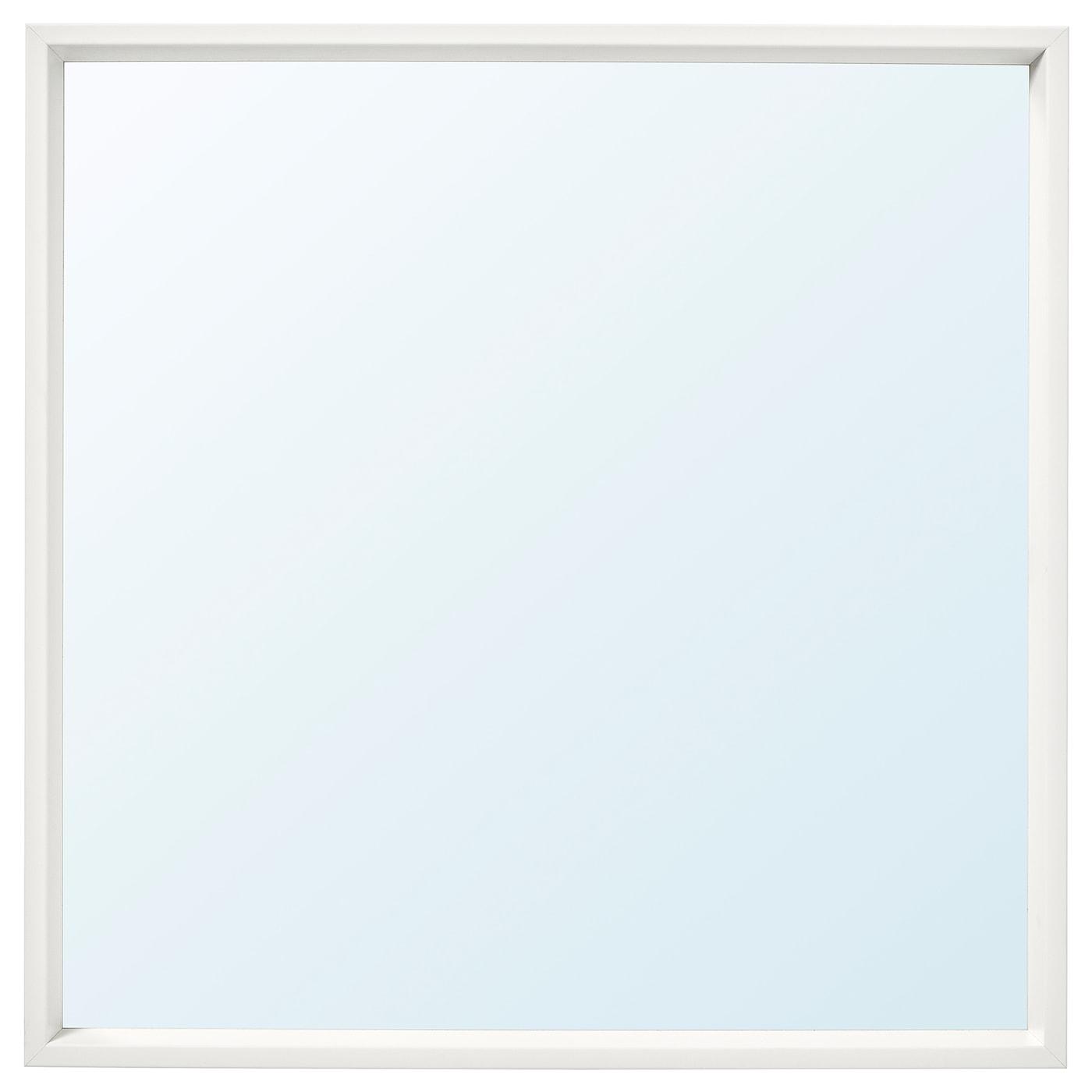 Picture of: Nissedal Spejl Hvid 65×65 Cm Ikea